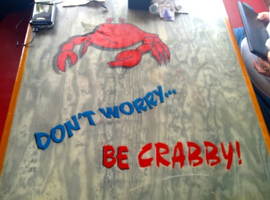 Crabby Bill's Clearwater Beach: Don't Worry, Be Crabby!