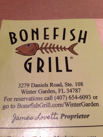 Superb Bonefish Grill De Winter Park