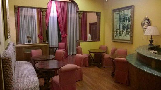 Hotel Corte Contarina: Sala comune, sala Wi-Fi