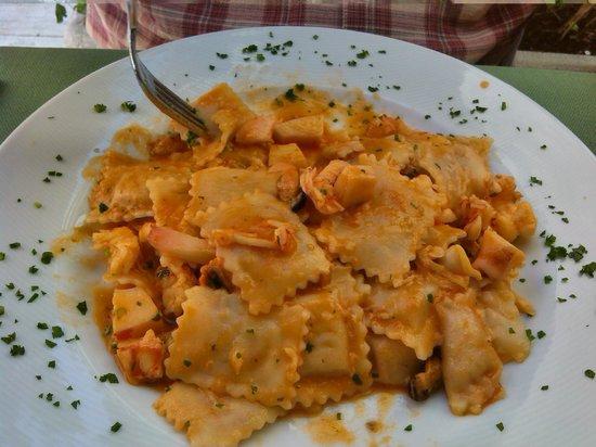 Albergo Ristorante Gian Maria: Ravioli di pesce