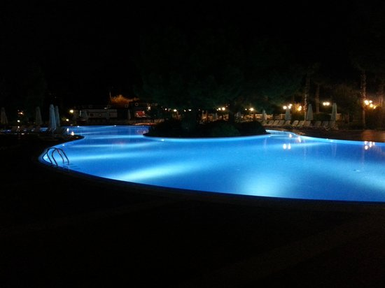 SENTIDO Sultan Beldibi: View from our balcony in the evening