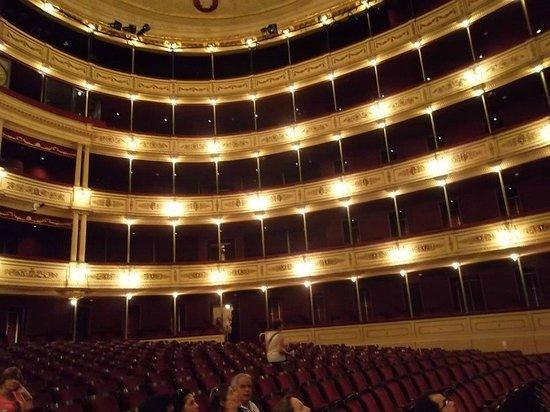 Teatro Solis: A beleza do teatro é impossivel de se mostrar em fotos... A visita tem que acontecer!