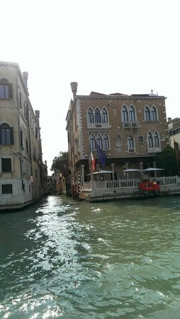 Hotel Palazzo Stern: The Hotel from the Grand Canal