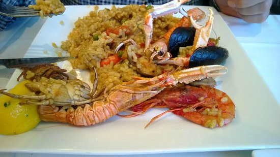 Restaurante Amar: Paella