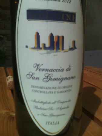 D!Vineria: bottiglia vernaccia