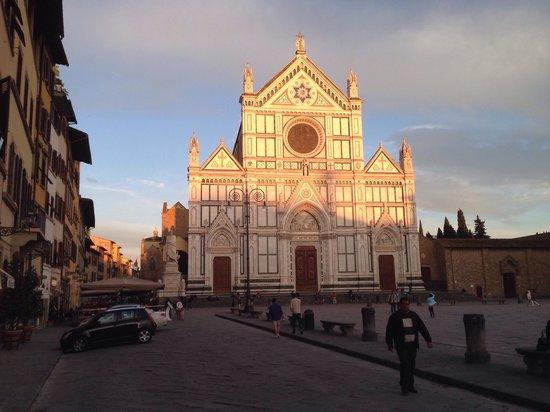 Osteria Battipalla: Piazza Santa Croce