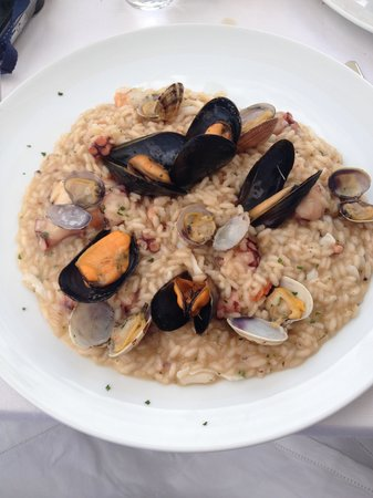 Edode: Sea Food Risotto, Very Nice !