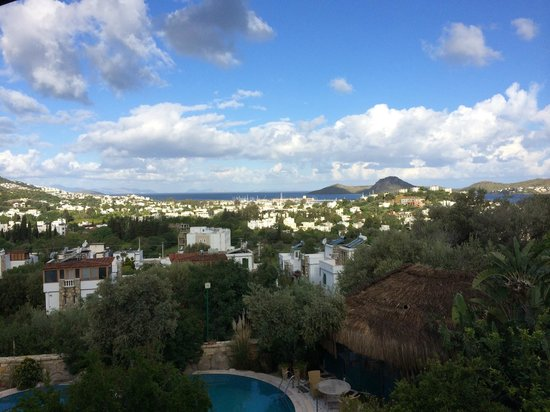 Sandima 37 Hotel Bodrum: View from balcony