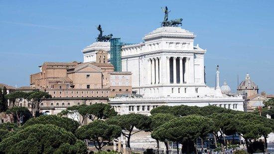 Made in Rome Bed&Breakfast: Ausblick von der Dachterrasse