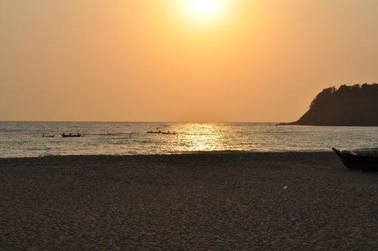 Simrose: Agonda sunset