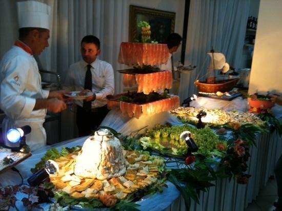 Hotel Suisse: gala buffet