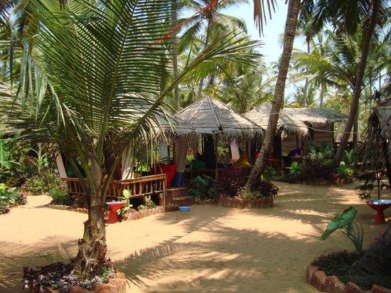 Simrose: Chillout huts