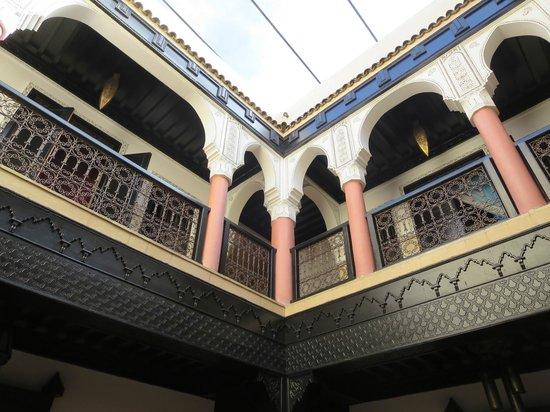 Riad Princesse du Desert: vue de l'intérieur du Riad