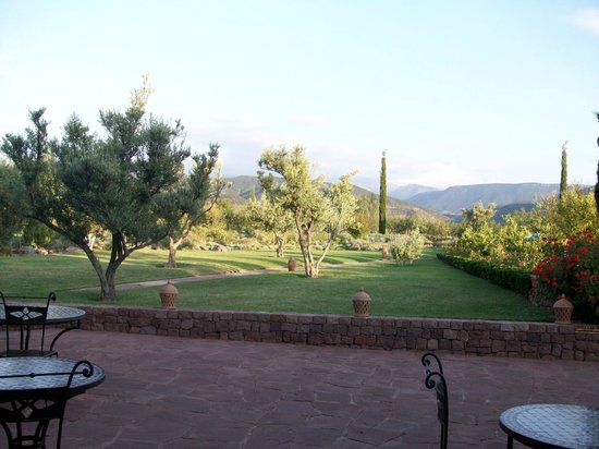 Kasbah Angour Atlas Mountains Hotel: The garden