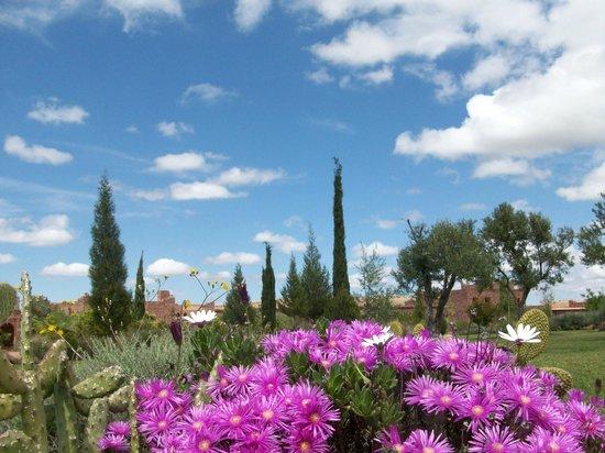 Kasbah Angour Atlas Mountains Hotel: The garden