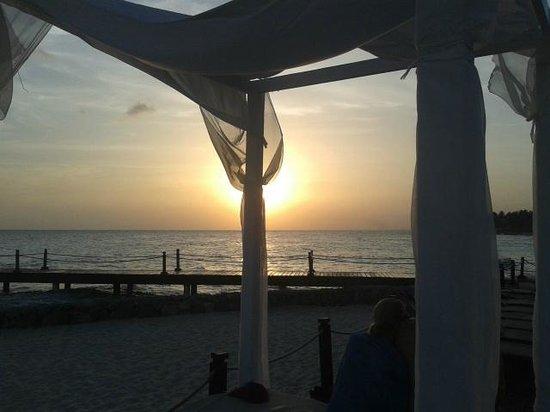 Viva Wyndham Dominicus Palace: coucher de soleil