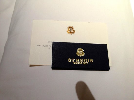 The St. Regis Mexico City: Turndown chocolate