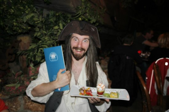 Blue Lagoon Restaurant - Disneyland Paris : au resto