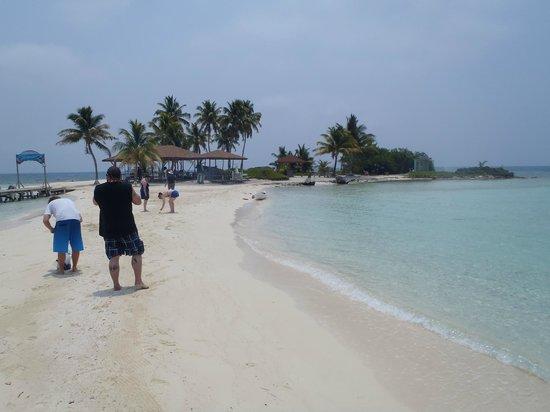 Tsunami Adventures: Small Island off Caye Caulker Belize