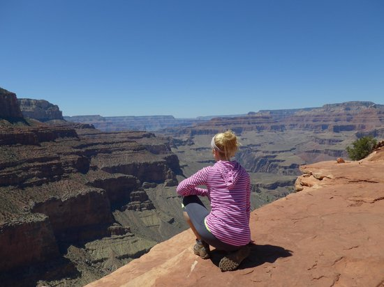 All-Star Grand Canyon Tours: Me overlooking the canyon