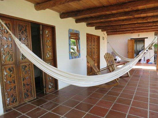 Hotel Sport Baru: terrasse de la chambre