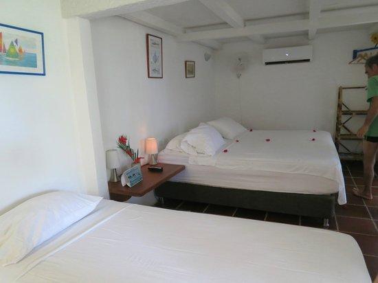 Hotel Sport Baru: chambre très spacieuse, avec terrasse et donnant sur la mer