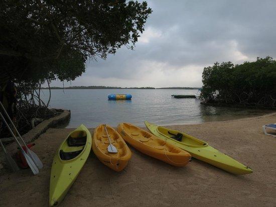 Hotel Sport Baru: une des deux petites plages
