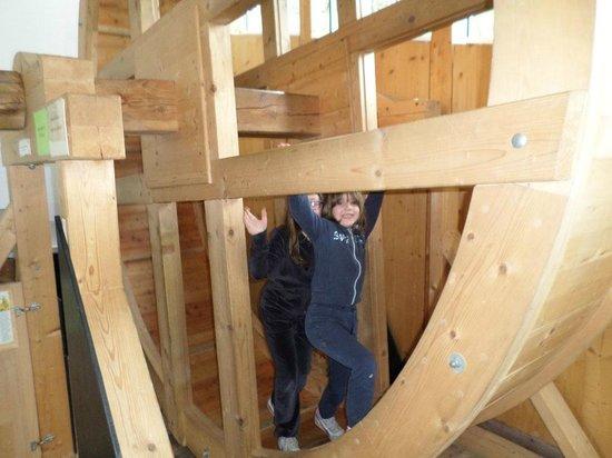 Holzmuseum : ruota girevole