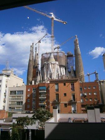 Sensation Sagrada Familia: Vue Balcon