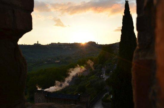 Castello di Monterone: Veduta dalla torre