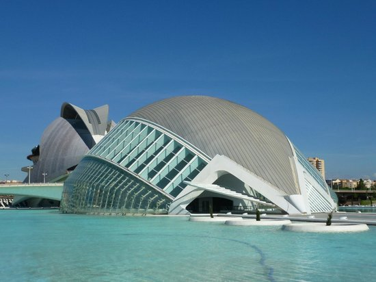 City of the Arts and Sciences : Emisfero