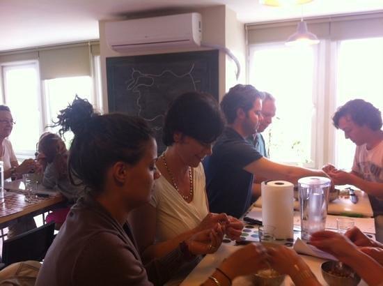 Istanbul Cooking School : everybody enjoyed!