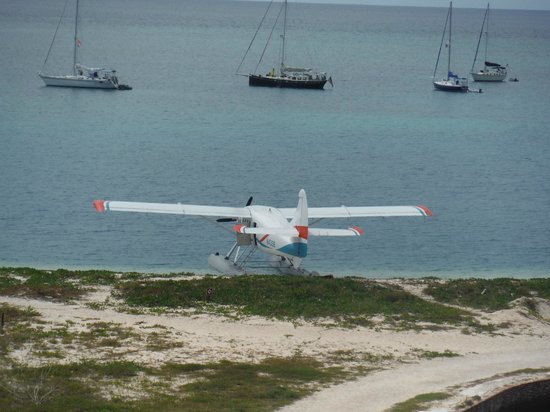 Dry Tortugas National Park: Seaplane landing was smooth