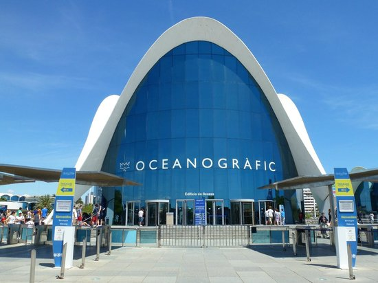 City of the Arts and Sciences : Oceanografico