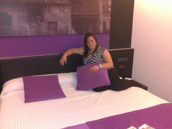 Hotel Playa Ribera : cama de una habitación doble ;)