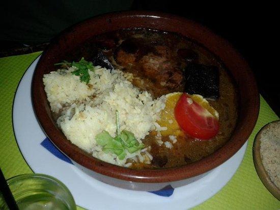 Classic national brazilian dish