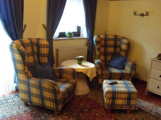 Haus Am Moos: Mini salotto in camera