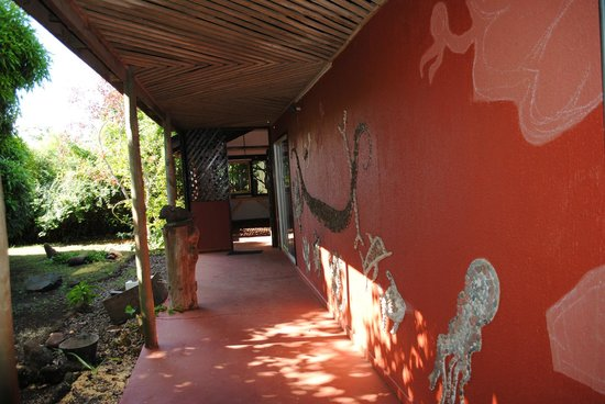 Aukara Lodge, El Taller de Bene Tuki: Galería de arte