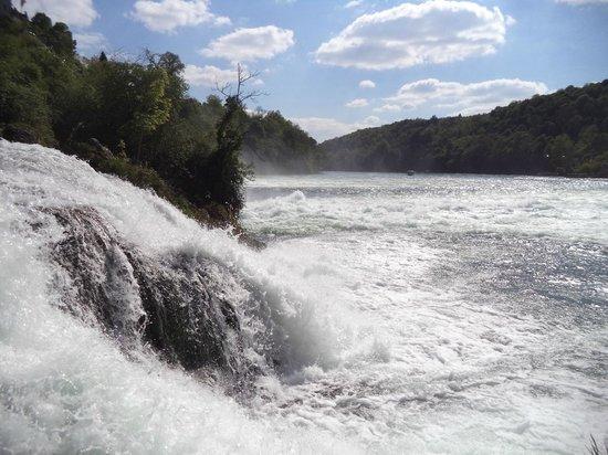 Rhine Falls : Рейнский водопад, Шаффхаузен