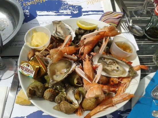 Le Saint Pierre : Assiette de fruit de mer