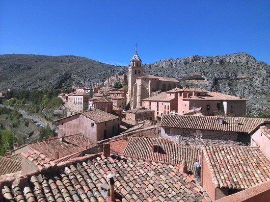 Hotel Restaurante Casa de Santiago : vistas desde el altillo