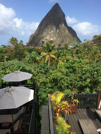 Boucan by Hotel Chocolat : View from the restaurant