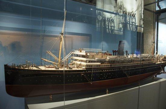 Museu Maritim : Para ver esto, mejor me voy al 'Moll Barcelona'