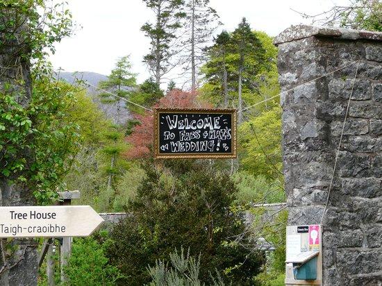 Applecross Walled Garden: Entrance