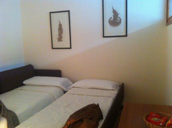 Nyala Suite Hotel San Remo : Minuscule salon