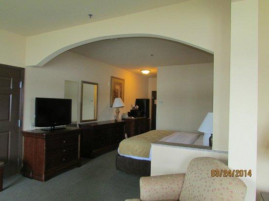 Comfort Suites : king balcony suite