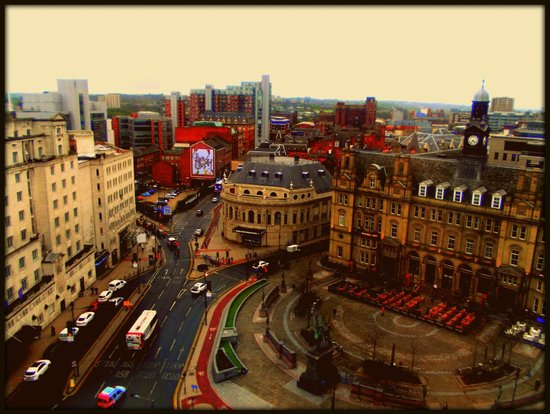 Park Plaza Leeds : the view from our room