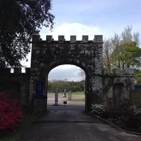 Muncaster Castle: entrance