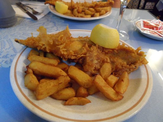 Ray´s 1 chppy: Our haddock and chips