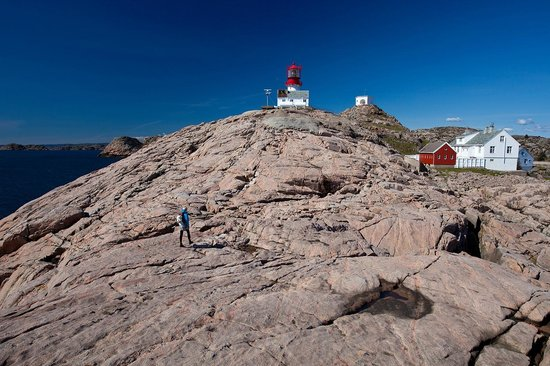 Lindesnes Fyr : The Lighthouse is located on the most southern part of the country - tunliweb.no